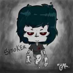 Smoker Ghost by LowClassManStudio.deviantart.com on @DeviantArt