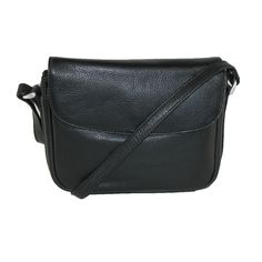 Paul & Taylor Womens Leather Long Shoulder Strap Small Handbag. 4 roomy card slots and 3 pen holders