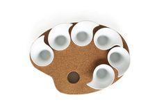 σ Sigma Palette Painting for Gourmet Food  #appetizer #food #cork #tablepieces #design #minimal