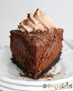 Chocolate cheesecake - perfect dessert anytime 💕💕😊 #chocolatelover #chocolatecake #chocolate #chocoholic #cheesecakelove #cheesecake #ontheplate #onthetable #onepiece #slicecake #pastry #pastrylove #pastrylife #foodporn #foodgasm #foodgram #dessert #design #delicious #delight #coffetime #coffee #teatime #perfect #instacake #chocolatecheesecake #beautiful #instapastry Snickers Cheesecake, Chocolate Cheesecake, Cheesecake Recipes, Chocolate Cake, Romanian Desserts, Food Cakes, Chocolate Lovers, Something Sweet, Food Porn