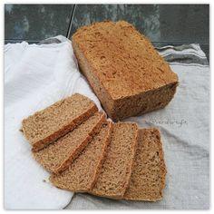 PAN DE CENTENO Y TRIGO INTEGRAL Cornbread, Ethnic Recipes, Food, Rye Bread, Homemade, Millet Bread, Essen, Meals, Eten