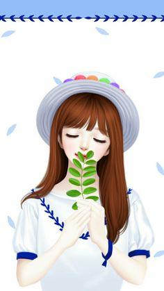 Cartoon Girl Images, Cute Cartoon Girl, Anime Girl Neko, Anime Art Girl, Sweet Girls, Cute Girls, Horse Girl Photography, Cute Girl Drawing, Cute Girl Wallpaper