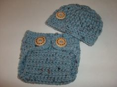 Crochet Baby Hat And Diaper Cover Set ,  Baby Boy Clothes, Newborn Boy Photo Prop , Coming Home Outfit , Made To Order by ComfyCrochetBoutique on Etsy