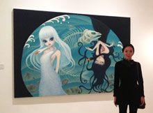 artist Chen Hongzhu (b1982; Chongqing, China)