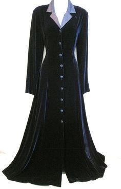 VINTAGE LAURA ASHLEY VELVET SILK DRESS COAT 18 16 46 44 14 VICTORIAN RIDING 30s #LauraAshley