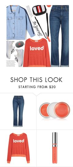 """""""Casual"""" by beebeely-look ❤ liked on Polyvore featuring NYDJ, Clinique, Dream Scene, Chantecaille, casual, casualoutfit, sammydress, whitesneakers and DenimStyle"""