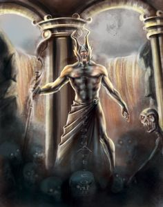 Hades is known in Greek mythology as being the God of the Underworld.  The speed-painting video tutorial  will be available @ the following link.  http://youtu.be/BN1K4q-L9PA