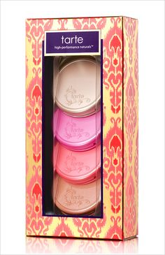 4-Blushes-Kit Tarte Holiday 2012 Collection