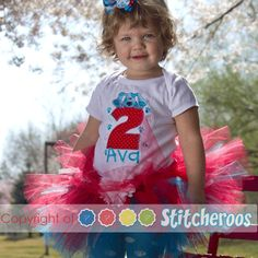 Blues Clues Birthday Outfit  $38.00 Personalized by Stitcheroos