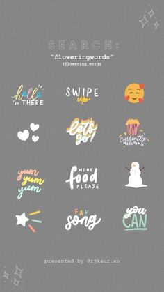 Pin by Ally on insta-Ideen Gif Instagram, Instagram And Snapchat, Instagram Quotes, Snapchat Search, Instagram Fashion, Ideas De Instagram Story, Creative Instagram Stories, Snapchat Stickers, Gifs