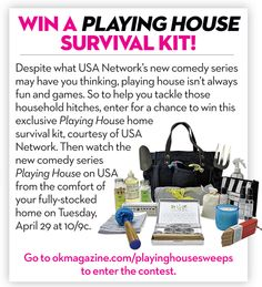 Sweepstakes: Win a Playing House Survival Kit!