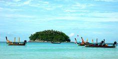 Long tail boats in Phuket Thai Massage, Turquoise Water, Archipelago, Travel Agency, Phuket, Beach Day, Thailand, Journey, Island