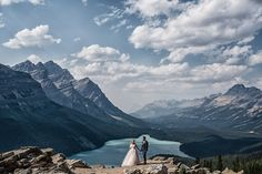 A Summer Wedding At Tunnel Mountain | Banff Wedding