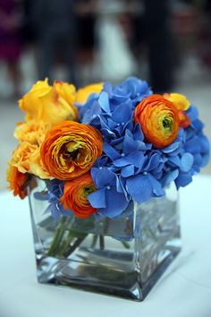 A rustic blue and orange wedding by sarah rose burns photography love these colors mightylinksfo