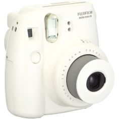 Amazon.com: Fujifilm Instax Mini 8 Instant Film Camera (White): Camera & Photo