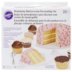 Beginning Buttercream Decorating Set 20Pkg