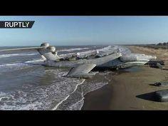 Lun Class Ekranoplan, Sea Monsters, The Republic, Airplanes, Coast, Museum, Military, Ocean, Park