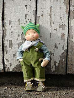 waldorf doll Finn