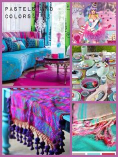 . Mood Colors, Jewel Colors, Jewel Tones, Pastel Colors, Pastels, Colours, Colorful Decor, Colorful Interiors, Color Stories