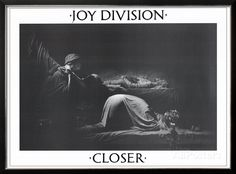 Joy Division Closer Music Poster Ian Curtis Print - AllPosters.co.uk