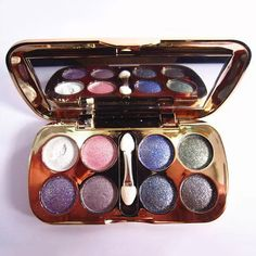 Professional 8 Colours Diamond Eyeshadow Palette with Mirror and Brush #women, #men, #hats, #watches, #belts, #fashion, #style