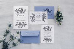 Mary & Charles wedding stationery for their marriage celebration in Ibiza They are one of many who travel from UK to Ibiza to celebrate their wedding. For their invitationswe created something elegant and with a vintage look, such as their love story is. Hummingbirds and wild flowers, trendy Lilac Gray and old engraved illustrations are …