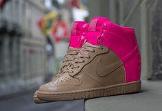 Nike WMNS Dunk Sky Hi VT | Vachetta & Pink Flash