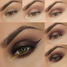 Get in tune with the season! This Autumn Acorn look by @justyna_mua features rich colors found in nature, with a duochrome pop that adds the perfect touch of glam.  Petal Pusher (transition/crease)  Confection (transition/crease)  Vintage (crease)  Cherry Cola (inner & outer third)  Steampunk (center of the lid)  Americano (lower lash line)  Fuji (waterline) Click the link in our bio and follow the step-by-step photo tutorial to recreate the look!