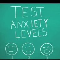Test Anxiety Levels... right now I am a 3.