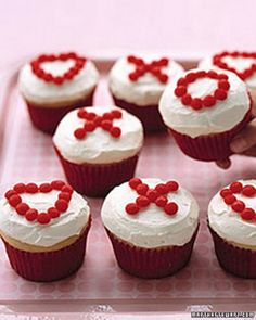 Valentine's Day Cupcakes Decorating Ideas, 2014 Valentines Day Cupcakes, 2014 Lover's Day Cupcakes