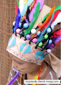 Native American Indian Craft for Kids: Indian Headdress