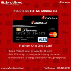 Credit card (https://www.myfundbucket.com/Credit-Card) is a money borrowing financial card provided by banks and various private companies that permits the customer to borrow small amount of money from the bank to make basic monetary transactions.