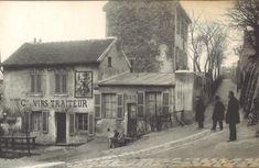 Saint Germain, Pablo Picasso, Paris France, Blaise Cendrars, Saint Ouen, Montmartre Paris, Old Paris, Old Houses, Impressionist