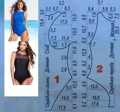 Best 11 Diy idea how to make tutorial sew swimsuit – SkillOfKing. Underwear Pattern, Lingerie Patterns, Dress Sewing Patterns, Clothing Patterns, Sewing Clothes, Diy Clothes, Sewing Hacks, Sewing Tutorials, Swimsuit Pattern