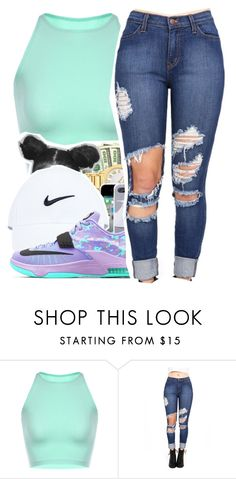 Untitled #272 by mindset-on-mindless on Polyvore featuring beauty and NIKE