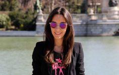 Ana Ramos (www.lessismoreblog.com) con nuestras gafas Carrera (http://www.andorraqshop.es/gafas/carrera.html)