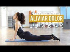 Os enseñamos 5 estiramientos básicos y fáciles de realizar para dotar a tus músculos de la flexibilidad adecuada y aliviar dolores posturales en la zona lumb... Studio Pilates, Pilates Reformer, Pilates Workout, Cardio, Pilates Fitness, Body Fitness, Health Fitness, Lumbar Pain, Pilates Video