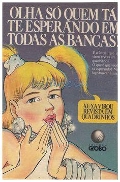 Revista em Quadrinhos da Xuxa #nostalgia