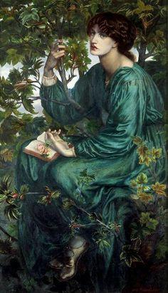 The Day Dream. Dante Gabriel Rossetti