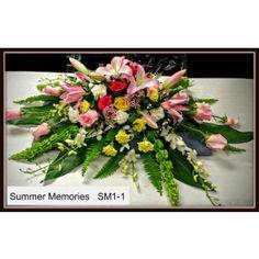 Sympathy and Funeral Flowers Three Hills AB Florist Summer Memories, Funeral Flowers, Flower Delivery, Floral Wreath, Wreaths, Plants, Door Wreaths, Flora, Deco Mesh Wreaths