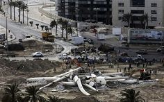 Bahrain authorities destroy Pearl Roundabout