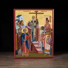 Exaltation of the Cross (XXIc) Icon - F221 - Legacy Icons