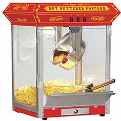 @Overstock - Create irresistible theater-style popcorn with this popcorn…
