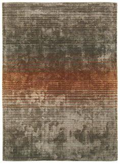 Teppich Wohnzimmer Carpet modernes Design HOLBORN STREIFEN RUG 100% Viskose 120x170 cm Rechteckig Orange   Teppiche günstig online kaufen http://www.amazon.de/dp/B017KNCLFG?m=A1R2EWUSWBGWY4&keywords=teppich+wohnzimmer