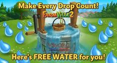 Farmville 2 Free Gift of Water (March 19th)   V56.org
