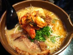 kome ramen...  I LOVE ramen with kimchee!  Gotta have the kimchee