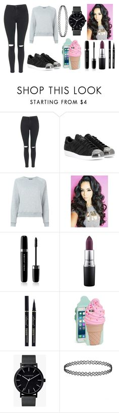 """""""First Day of Spring"""" by nutellapoop on Polyvore featuring Topshop, adidas, Alexander McQueen, Marc Jacobs, MAC Cosmetics, Kate Spade and The Horse"""