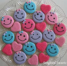 Smiley Faces www.songbirdsweets.com