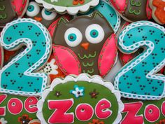 Cute Owl Cookies!