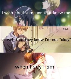 Find images and videos about quote, anime and anime quote on We Heart It - the app to get lost in what you love. Sad Anime Quotes, Manga Quotes, Maid Sama Manga, Fille Gangsta, Nagisa Shiota, Kaichou Wa Maid Sama, Girls Anime, Anime People, Cute Comics